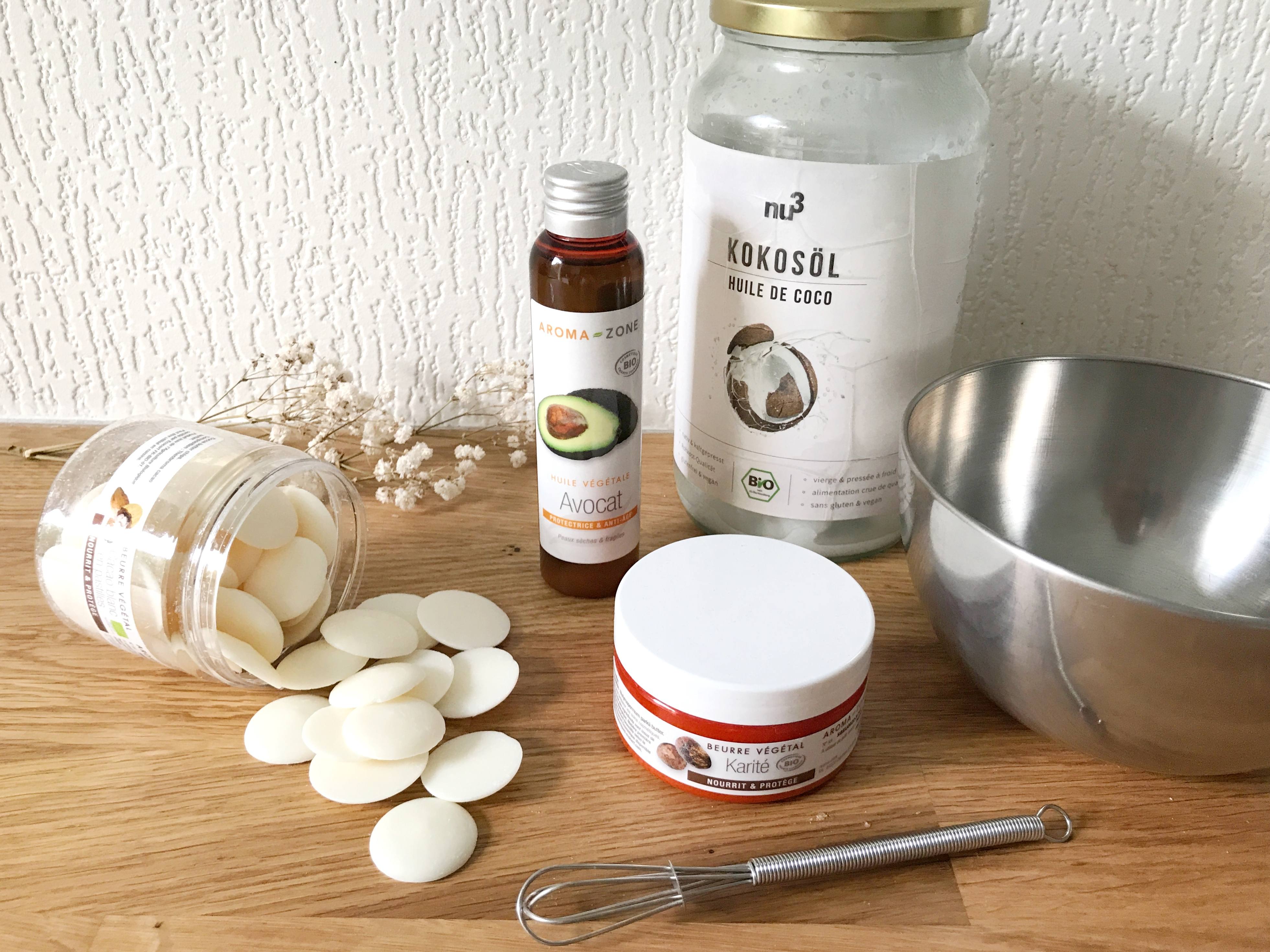 Green cosmétique : beurre corporel maison