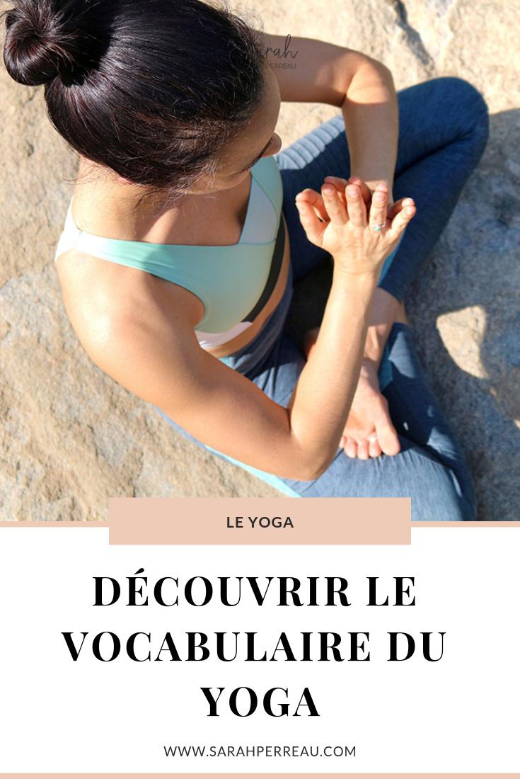 Cinq mots pour découvrir le vocabulaire du yoga