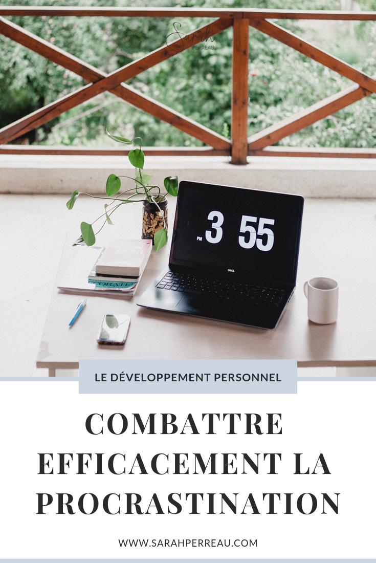 combattre efficacement la procrastination