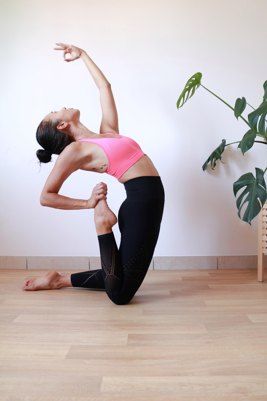 Déroulement d'un cours de yoga