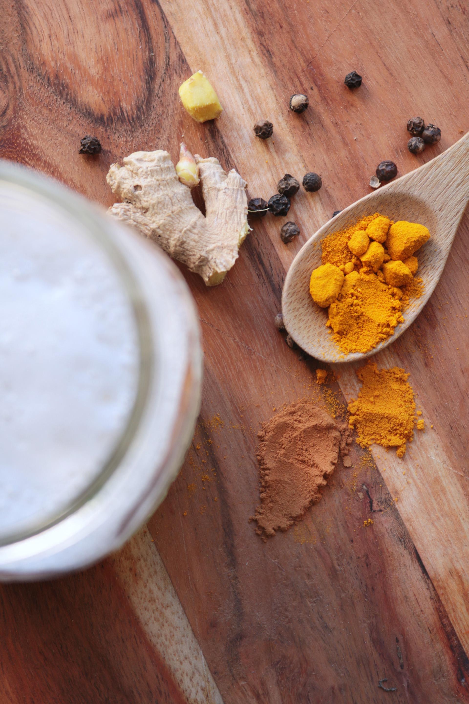 Golden Latte curcuma ingredients
