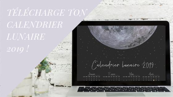 Calendrier lunaire à télécharger