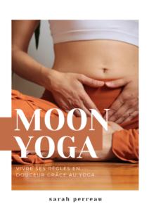 Couverture ebook Moon Yoga